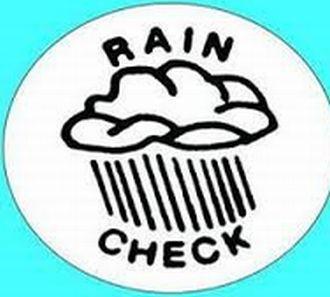 Can I take a rain checkの意味