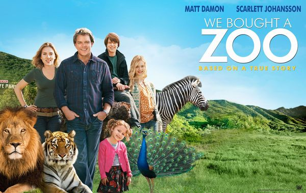"""幸せのキセキ""""We bought a Zoo"""""""