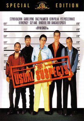 """映画で学ぶ英会話「ユージュアル・サスペクツ""""The Usual Suspects""""」"""
