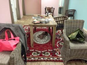 家具が到着