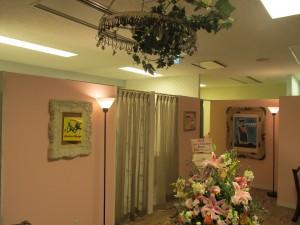 天井のオブジェ