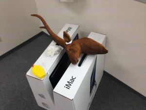 鹿のウォール