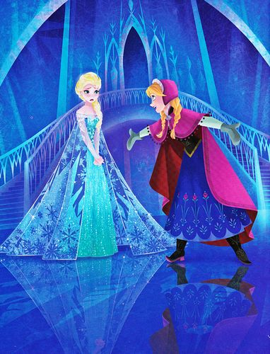 Frozen: Are you a Princess Ana or a Princess Elsa? by Kevin