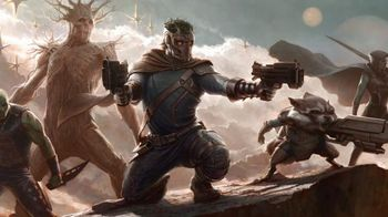 Guardians of the Galaxy by Peter