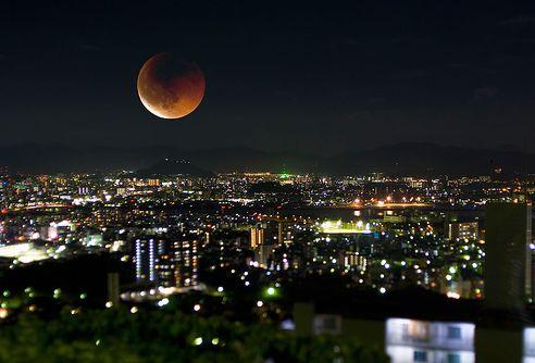 皆既月食について英語で語ろう!