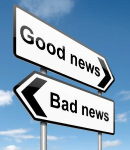 良いニュース悪いニュース