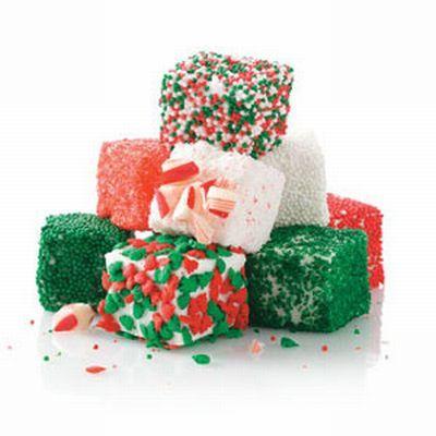 クリスマスカラーマシュマロ