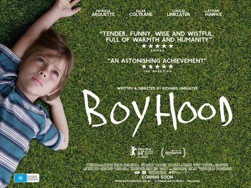"""6才のボクが、大人になるまで""""Boyhood""""by Andrea"""