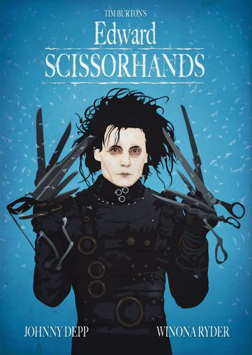 "シザーハンズ""Edward Scissorhands"""