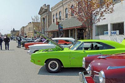 the Algoma Main Street Classic Car Show