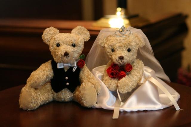 結婚 英語