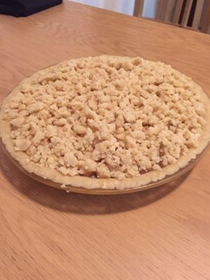 Dutch Apple Pieの作り方☆by Sarah Jones