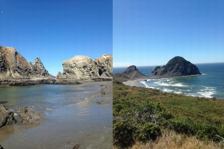 a long west coast road trip by Jennifer