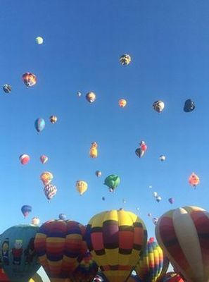 The Albuquerque International Balloon Fiesta by Diego