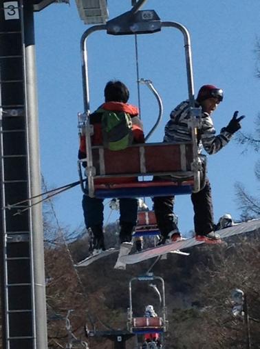 日本で外国人がスキー
