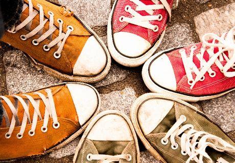 靴を合わせる 英語で