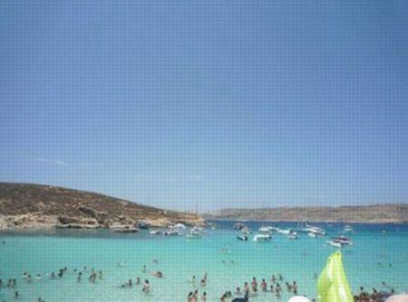 マルタ共和国ビーチ