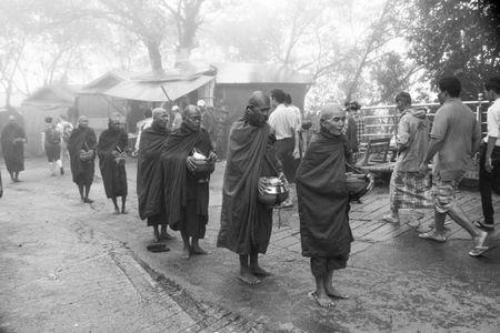 Pilgrimage to Golden Rock in Myanmar by Jus