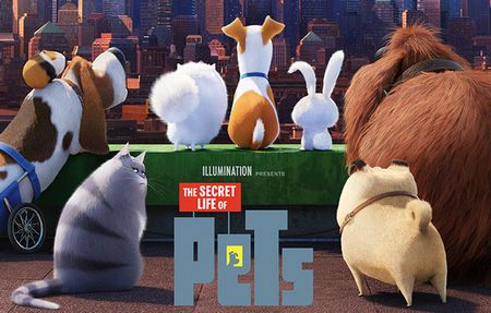 """ペット""""The Secret Life of Pets"""""""