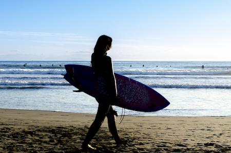 サーフィンと英語