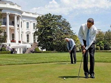 オバマ大統領のゴルフ