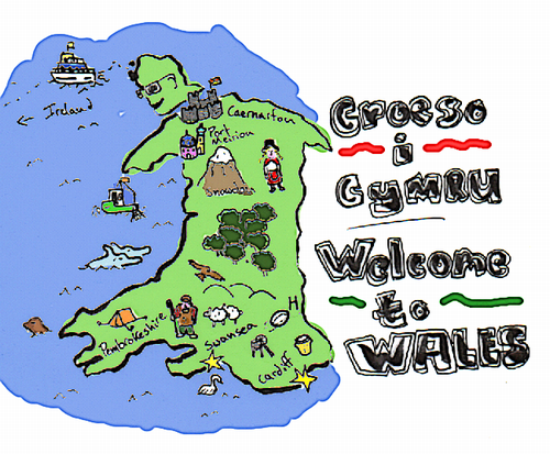 Welcome to Wales! by Ben