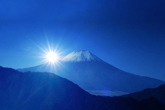 インスタ映えする富士山