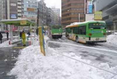 大雪 渋谷
