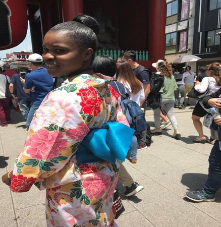 My trip to Asakusa by Precious