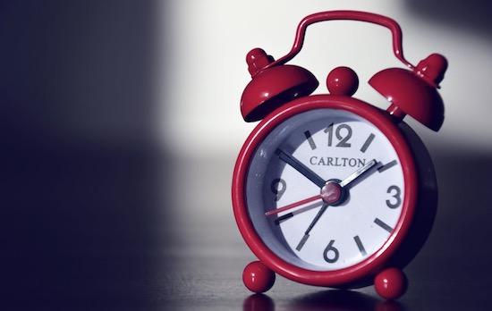 時計のカウント