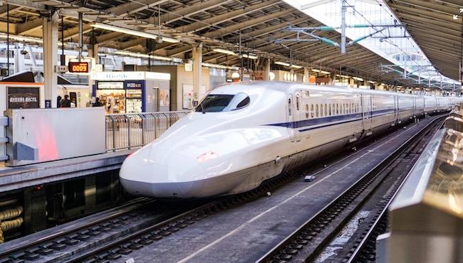 新幹線は早い、速い?