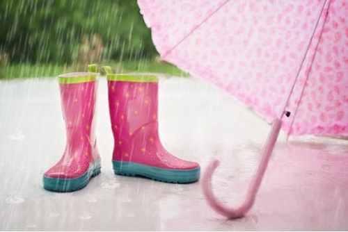 英語で土砂降り