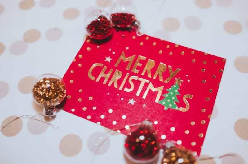 クリスマスのメッセージの書き方(英語)