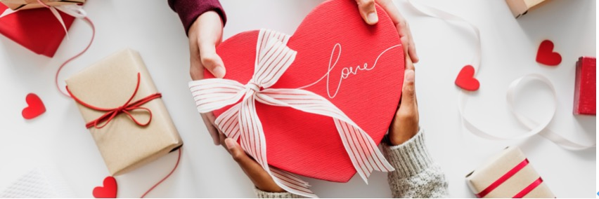 英語でバレンタインチョコを渡すとき