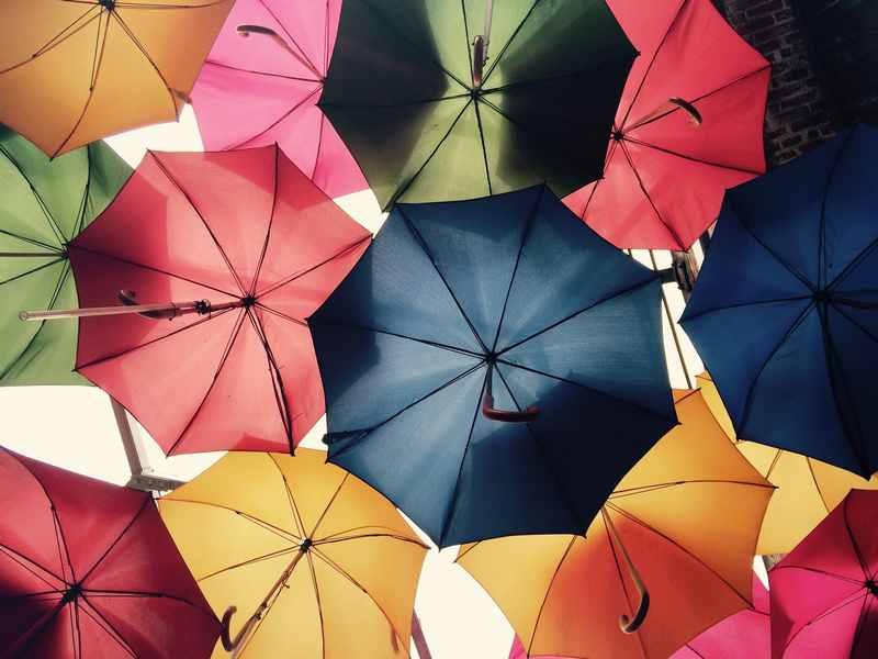 雨にまつわる英語表現