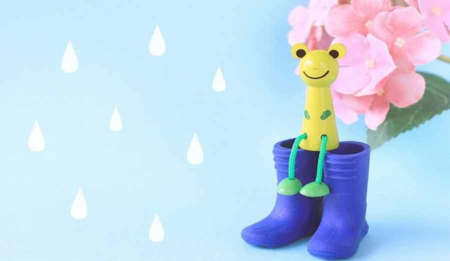 梅雨って英語では?