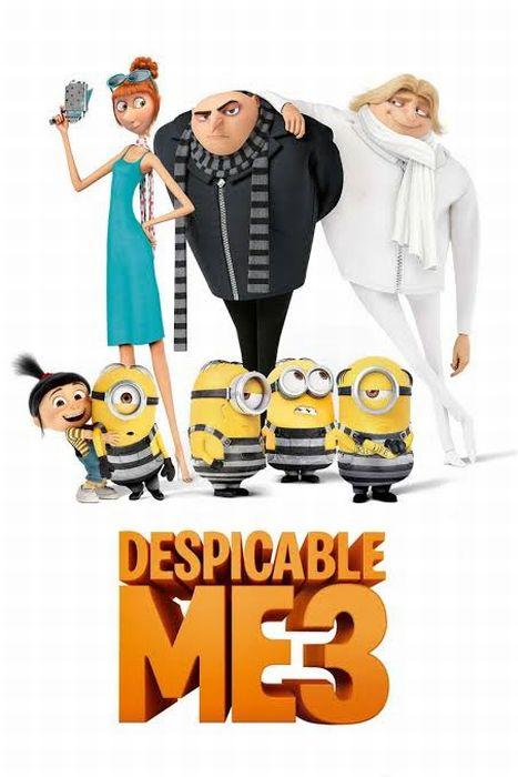 """怪盗グルーのミニオン大脱走""""Despicable Me 3"""""""