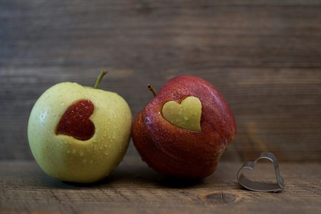 リンゴを使った単語