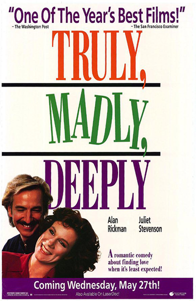 愛しい人が眠るまで・Truly, Madly, Deeply