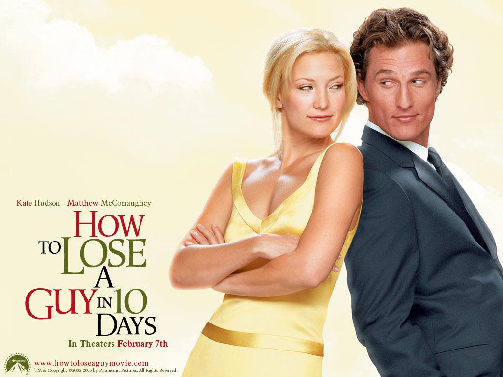 """10日間で男を上手にフル方法(""""How to Lose a Guy in 10 Days"""")"""